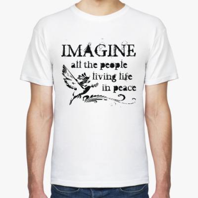 Футболка Imagine - John Lennon