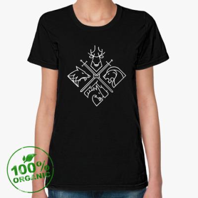 Женская футболка из органик-хлопка Игры престолов