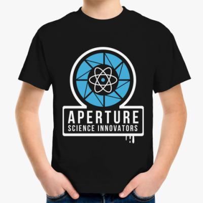 Детская футболка 'Apreture'