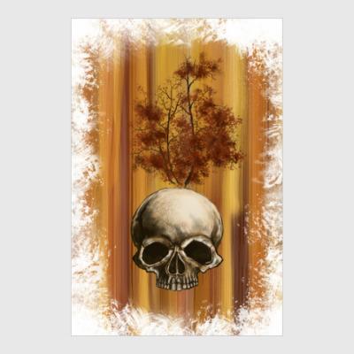 Постер Autumn scull