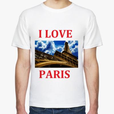 Футболка I Love Paris