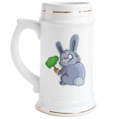 Пивная кружка  Кролик
