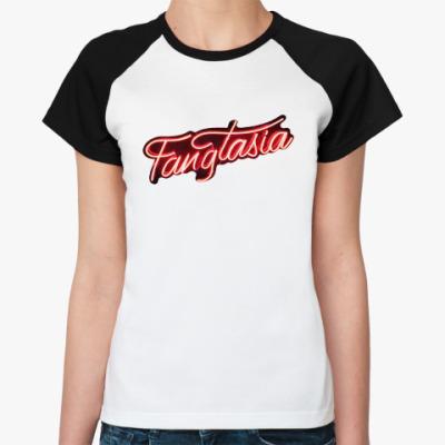 Женская футболка реглан Blood fangtasia