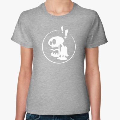 Женская футболка WOW