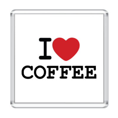 Магнит I Love Coffee