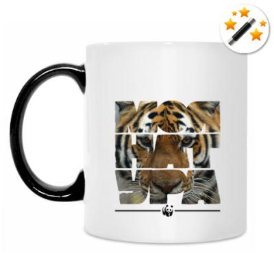 Кружка-хамелеон WWF. Моя натура - Тигр!