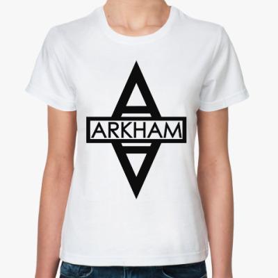 Классическая футболка Аркхем