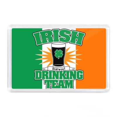 Магнит Irish drinking team