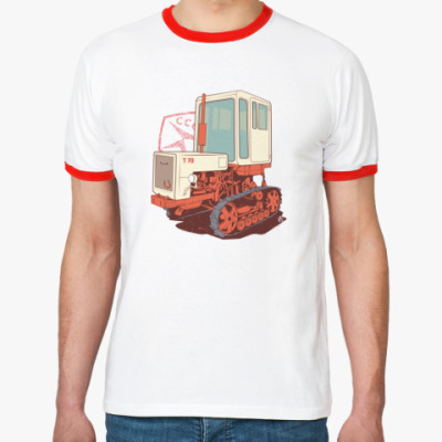 Футболка Ringer-T T70 Трактор