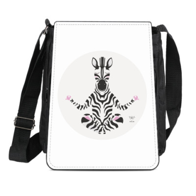 Сумка-планшет Animal Zen: Z is for Zebra