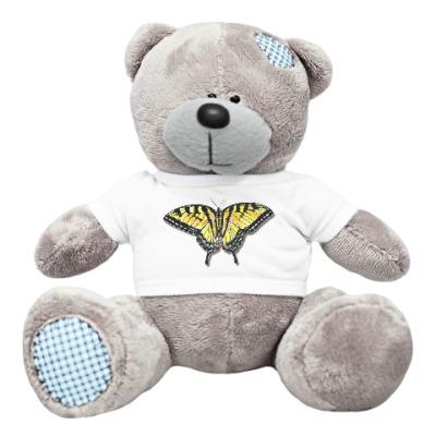 Плюшевый мишка Тедди Бабочка