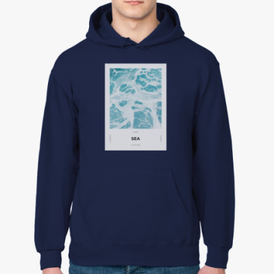 Толстовка худи Море