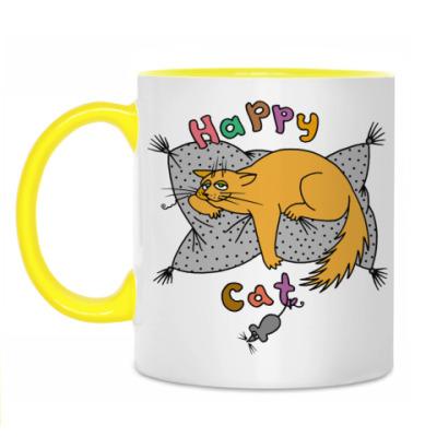 Кружка Happy cat