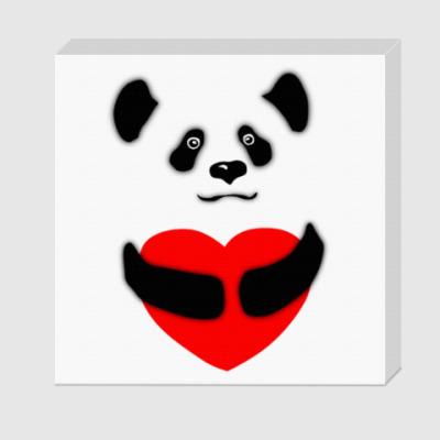 Холст Панда