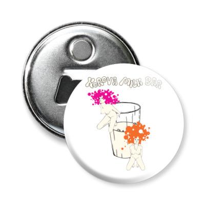 Магнит-открывашка Clockwork orange