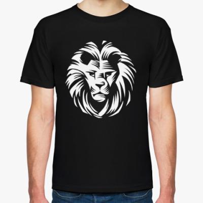 Футболка Лев - царь зверей