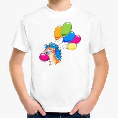 Детская футболка ЁЖИК С ШАРАМИ