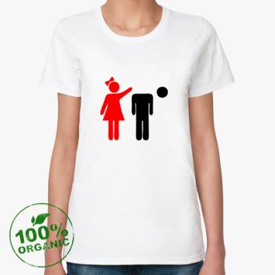 Женская футболка из органик-хлопка Девочки круче