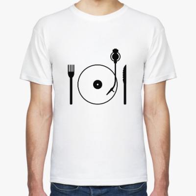 Футболка Eat music