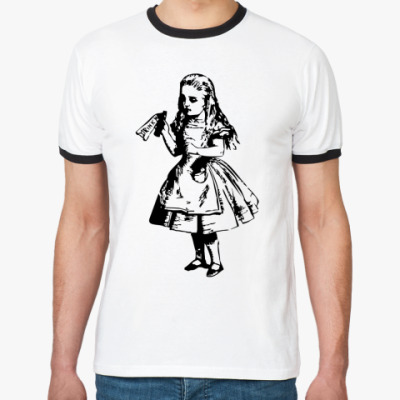 Футболка Ringer-T Выпей меня ~  футболка