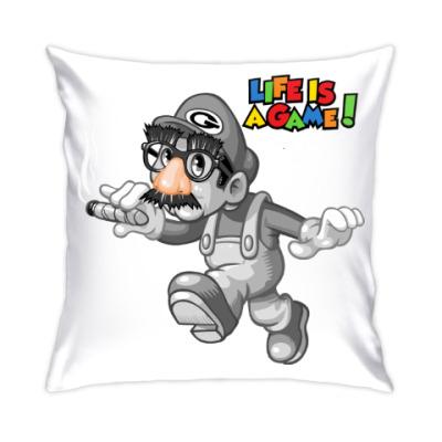 Подушка Марио - жизнь игра