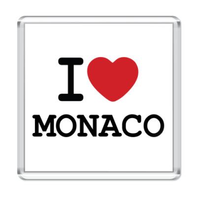Магнит I Love Monaco