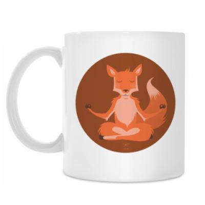 Кружка Animal Zen: F is for Fox
