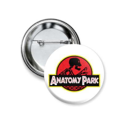 Значок 37мм Anatomy Park