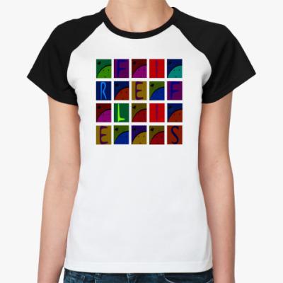 Женская футболка реглан   Fireflies
