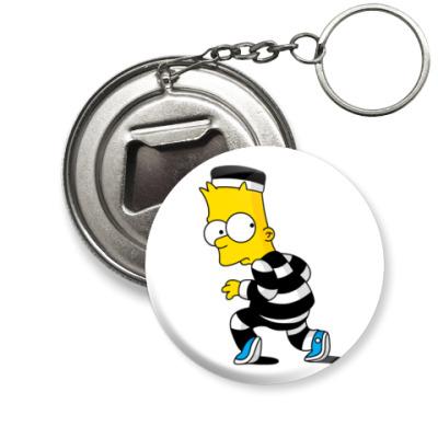 Брелок-открывашка Bart