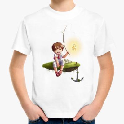 Детская футболка 'Рыбак'