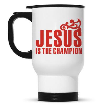 Кружка-термос Христианство. Gospel. Faith.