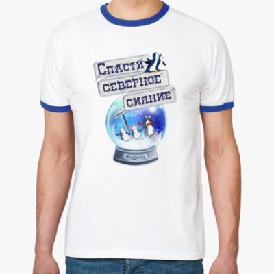 Футболка Ringer-T Елка на воде