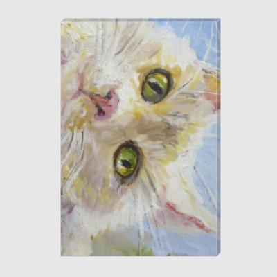 Холст Нежный котик