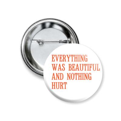 Значок 37мм 'Everything'