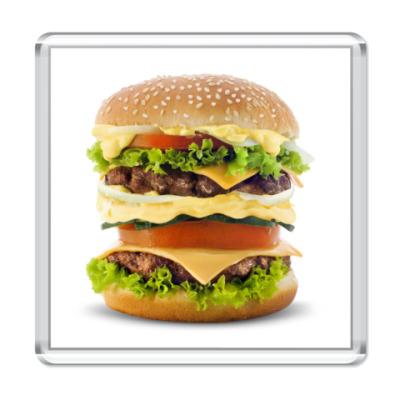 Магнит гамбургер