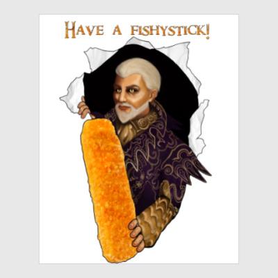 Постер Рыбные палочки Шеогората (Skyrim)