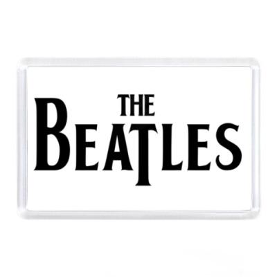Магнит  The Beatles (прямоуг)