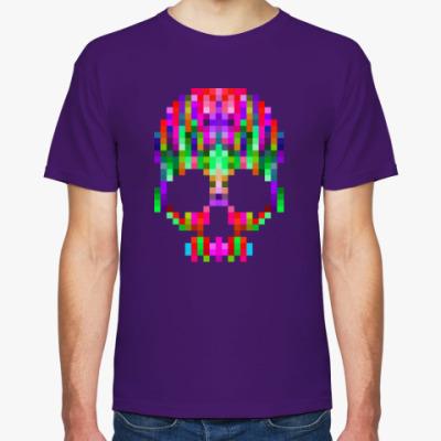 Футболка Pixel Skull