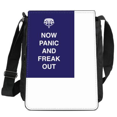 Сумка-планшет Now panic and freak out