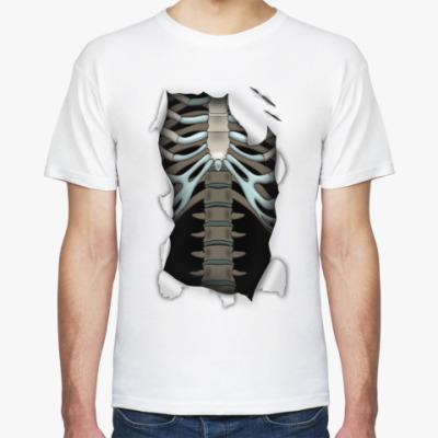 Футболка  футболка 'Скелет'