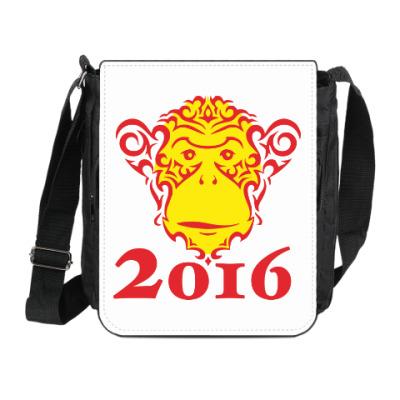 Сумка на плечо (мини-планшет) Год обезьяны 2016