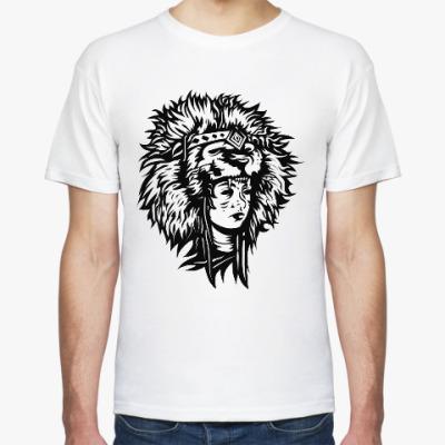 Футболка Lion girl
