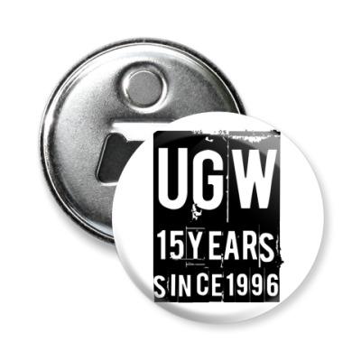 Магнит-открывашка 15 лет UGW -открывашка58