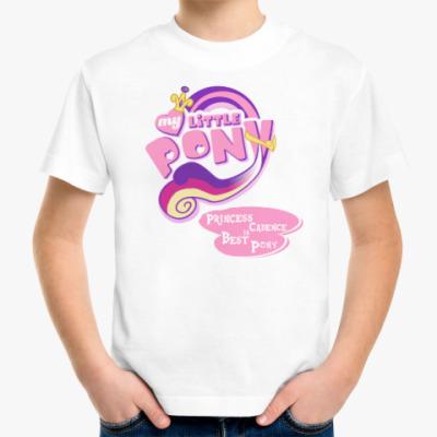 Детская футболка Принцесса Каденс Лучшая Пони