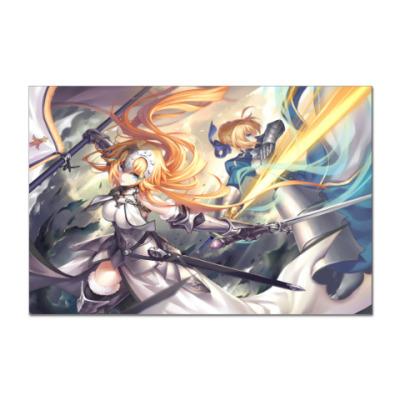 Наклейка (стикер) Fate