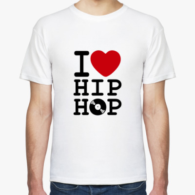 Футболка I Love Hip Hop
