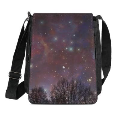 Сумка-планшет Ночное небо