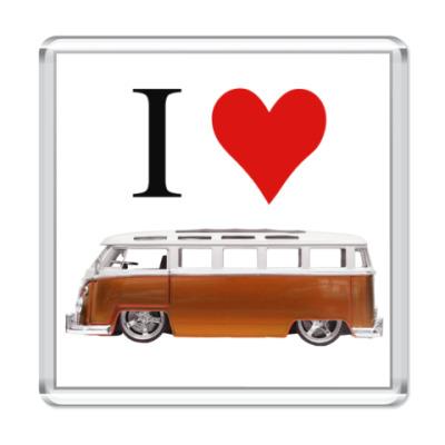 Магнит I Love Bus