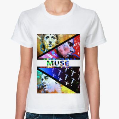 Классическая футболка MUSE